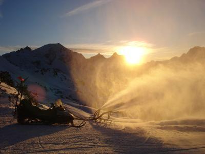 Schneeanlagenbau